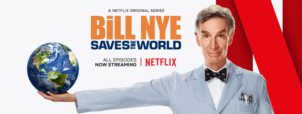 Bill Nye Saves The World Netflix logo